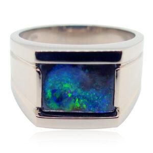 Men's Opal Ring