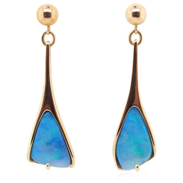 Boulder Opal Earrings