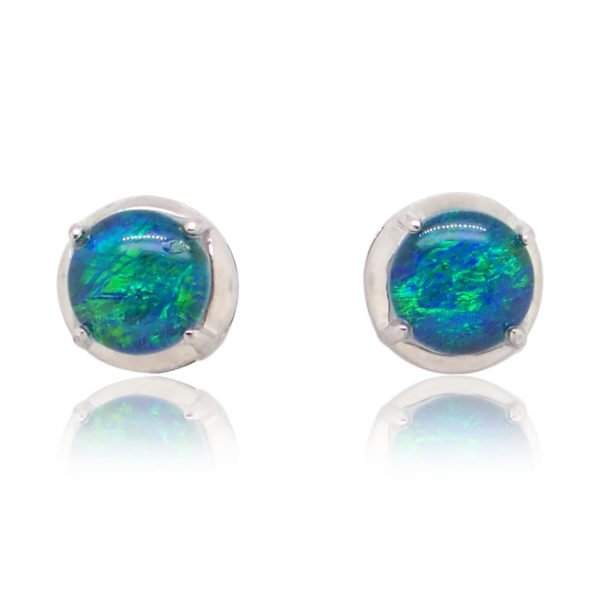 Triplet Opal Earrings