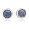 Triplet Opal Earrings