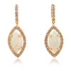 Crystal Opal Earrings