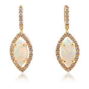 Crystal Opal Earrings