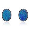 Doublet Opal earrings